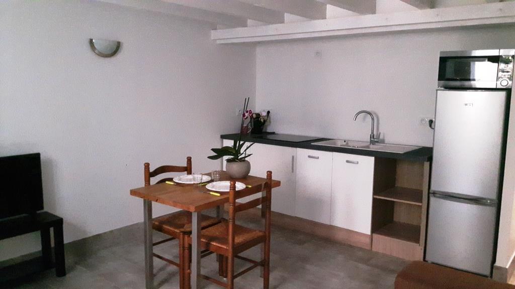 République appartement T1Bis meublé professionnel 70m² à Sathonay Camp avec cuisine