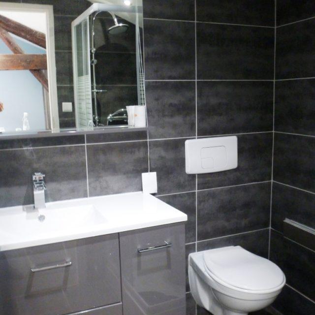 Studio supérieur meublé à Sathonay Camp avec salle d'eau